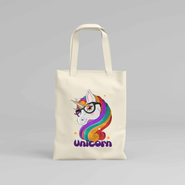 Canvas Tote Bag Unicorn 6