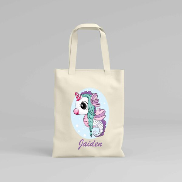 Canvas Tote Bag Unicorn 7