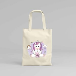 Canvas Tote Bag Unicorn 8