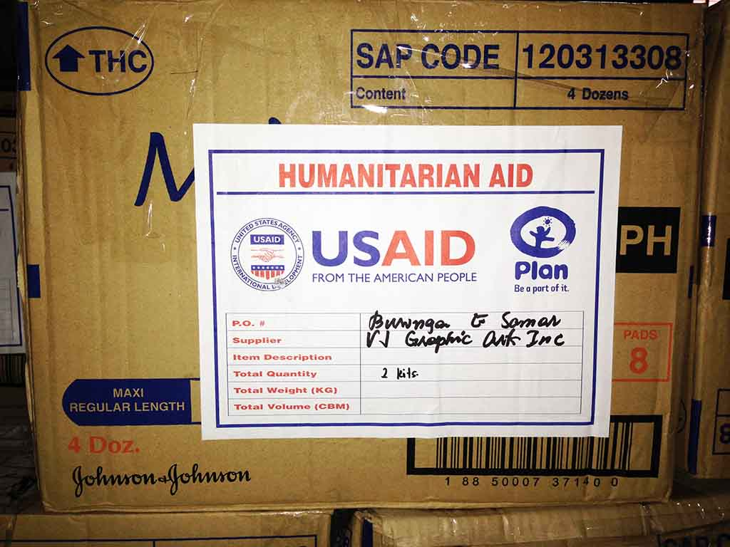 Typhoon Haiyan / Yolanda Relief Operations