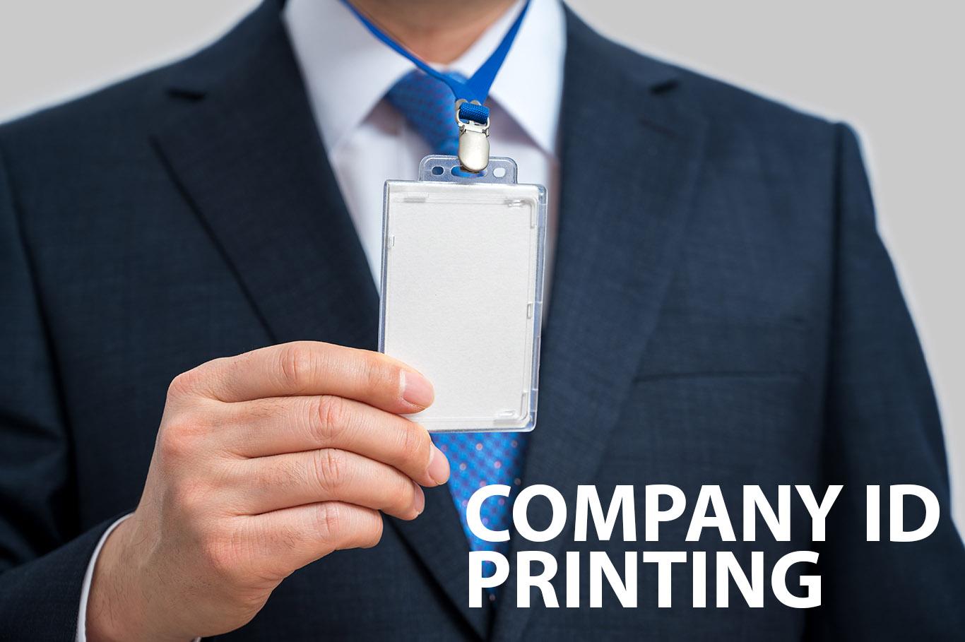 Company ID Printing