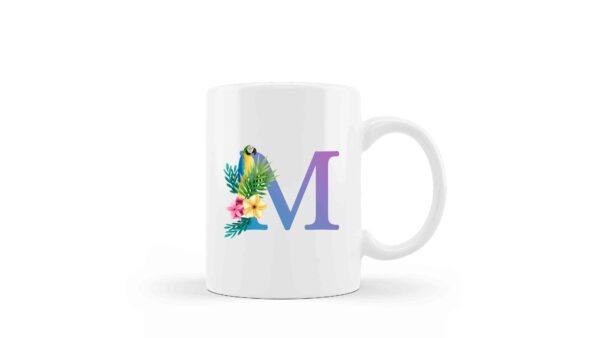 Mugs Monogram Floral 3