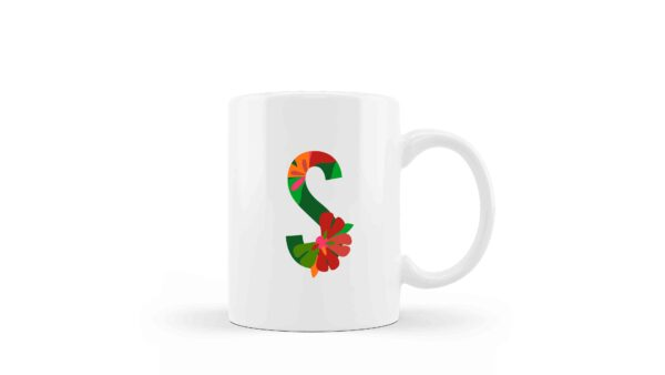 Mugs Monogram Floral 4