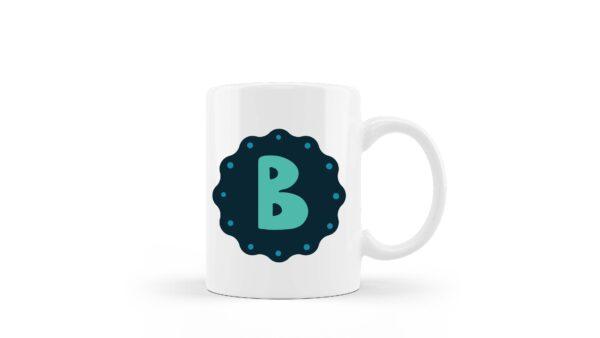 Ceramic Mug Monogram Kids 3