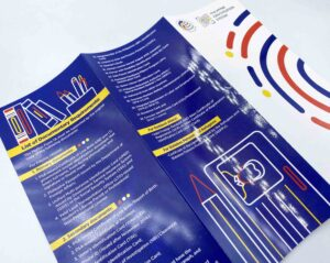 Philippine Statistics Authority Philippine Identification System Flyers #vjgraphicsprinting #offsetprinting #digitalprinting #growthroughprint #flyers