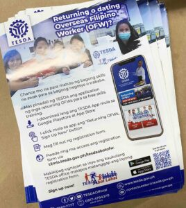 TESDA Flyers #vjgraphicsprinting #offsetprinting #flyers #growthroughprint