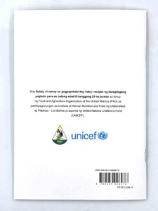 Food and Agriculture Organization of the United Nations (FAO) & United Nations Children's Fund Gabay Ni Nanay sa Pagpapakain Kay Baby Book #vjgraphicsprinting #growthroughprint #offsetprinting #digitalprinting