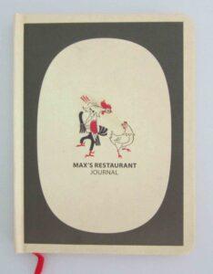 Max's Fried Chicken Journal #vjgraphicsprinting #offsetprinting #planners #journal #growthroughprint