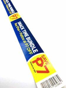 URC DANONE Bundling Sticker #vjgraphicsprinting #offsetprinting #growthroughprint #stickers #digitalprinting #barcode