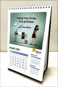 BSP PisoLit Desk Calendar #vjgraphicsprinting #offsetprinting #growthroughprint #deskcalendar #digitalprinting