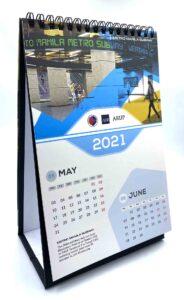 Arup 2021 Desk Calendar #vjgraphicsprinting #growthroughprint #offsetprinting #digitalprinting #calendar #deskcalendar