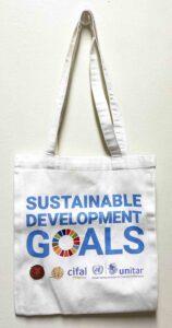 UP Canvas Bag #vjgraphicsprinting #canvasbag #growthroughptin #heatpress