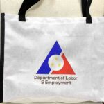 Department of Labor and Employment Canvas Bag #vjgraphicsprinting #canvasbag #growthroughptin #heatpress