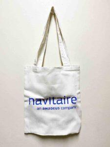 Navitaire Canvas Bag #vjgraphicsprinting #canvasbag #growthroughptin #heatpress