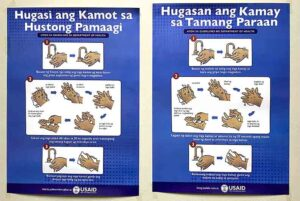 USAID Handwashing Posters #vjgraphicsprinting #growthroughprint #posters #offsetprinting #digitalprinting