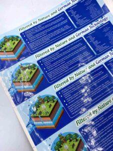 Waterproof Sticker Labels #vjgraphicsprinting #growthroughprint #stickers #offsteprinting