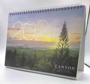 Canyon Woods Desk Calendar #vjgraphicsprinting #growthroughprint #deskcalendar #calendar