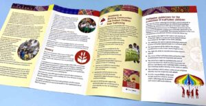 Philippines Against Child Trafficking Brochure #vjgraphicsprinting #offsetprinting #growthroughprint #brochure