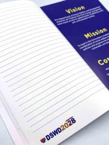 DSWD Notebook #vjgraphicsprinting #offsetprinting #digitalprinting #growthroughprint #notebook — with Department of Social Welfare and Development