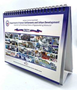 Department of Human Settlements and Urban Development Desk Calendar #vjgraphicsprinting #offsetprinting #growthroughprint #deskcalendar #digitalprinting