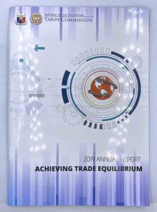 Tariff Commission Annual Report #vjgraphicsprinting #ipublishph #growthroughprint #printityourway #annualreport #offsetprinting #digitalprinting