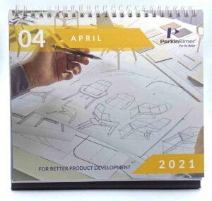 PerkinElmer Desk Calendar #vjgraphicsprinting #growthroughprint #calendar #deskcalendars #offsetprinting #digitalprinting