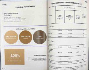 DTI Trade Promotions Group Annual Report #vjgraphicsprinting #offsetprinting #growthroughprint #digitalprinting #annualreport