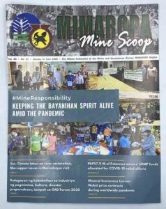 Mines and Geo-Sciences Bureau Mimaropa Mine Scoop Newsletter #vjgraphicsprinting #growthroughprint #newsletter #offsetprinting #digitalprinting #ipublishph