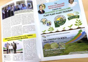 Bureau of Soils and Water Management Soilscape Newsletter #vjgraphicsprinting #growthroughprint #iPublishPH #PrintItYourWay #newsletter #offsetprinting #digitalprinting