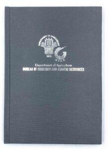 Department of Agriculture Bureau of Fisheries and Aquatic Resources Notebook #vjgraphicsprinting #GrowThroughPrint #iPublishPH #PrintItYourWay #offsetprinting #digitalprinting