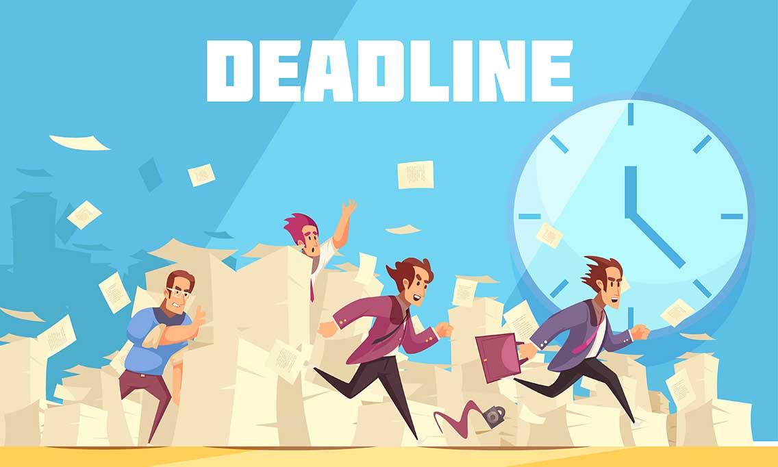 Printing Deadline