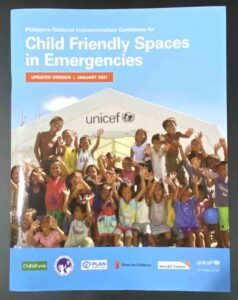 UNICEF Child Friendly Spaces in Emergencies Guidelines #VJGraphics #GrowThroughPrint #iPublishPH #PrintItYourWay #offsetprinting #growthroughprint