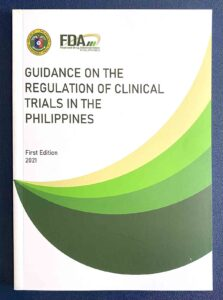 Food and Drug Administration Guidance on the Regulation of Clinical Trials in the Philippines #vjgraphicsprinting #growthroughprint #ipublishph #printityourway