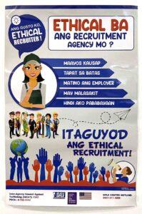 Blas Ople Policy Center IACAT Philippine Overseas Employment Administration (POEA) Blas Ople Center Poster #vjgraphicsprinting #growthroughprint #ipublishph #printityourway #offsetprinting #digitalprinting