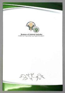 Department of Agriculture-Bureau of Animal Industry BAI Folder #vjgraphicsprinting #growthroughprint #ipublishph #printityourway #folder #offsetprinting #digitalprinting