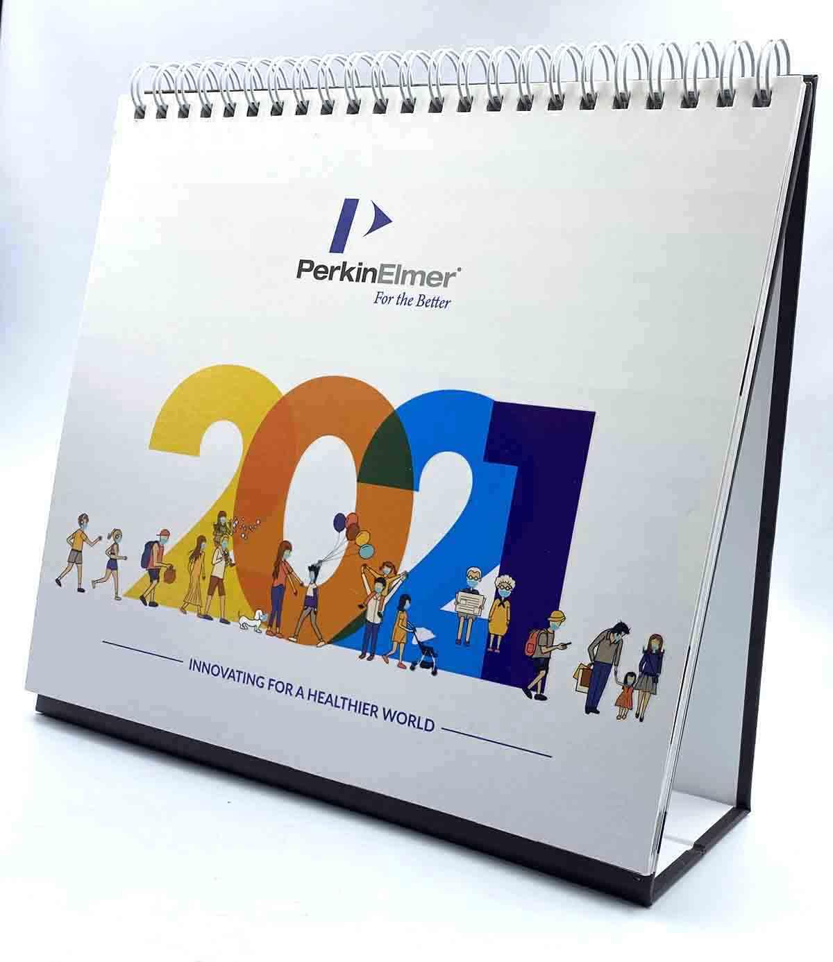 PerkinElmer Desk Calendar