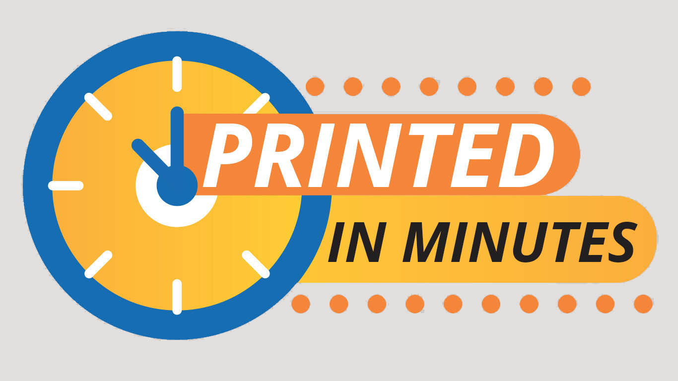 Printed in Minutes