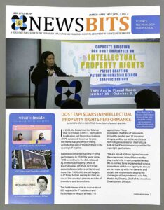 Technology Application and Promotion Institute Dost Tapi DOST Tapi Newsbit Newsletter #vjgraphicsprinting #offsetprinting #ipublishph #printityourway #offsetprinting #digitalprinting