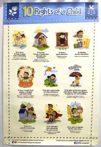 Commission on Human Rights of the Philippines 10 Rights of a Child Poster #vjgraphicsprinting #growthroughprint #PrintItYourWay #ipublishph #offsetprinting #digitalprinting