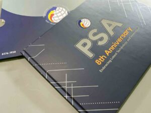 Philippine Statistics Authority PSA 8th Anniversary Coffee Table Book #vjgraphicsprinting #growthroughprint #ipublishph #PrintItYourWay #offsetprinting #digitalprinting #coffeetablebook