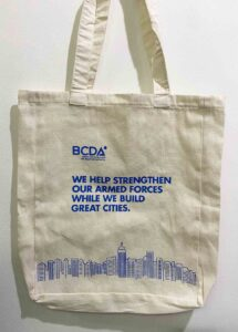 The BCDA Group Bases Conversion and Development Authority Canvas Tote Bag #vjgraphicsprinting #growthroughprint #ipublishph #PrintItYourWay #sublimationprinting #sublimation #digitalprinting