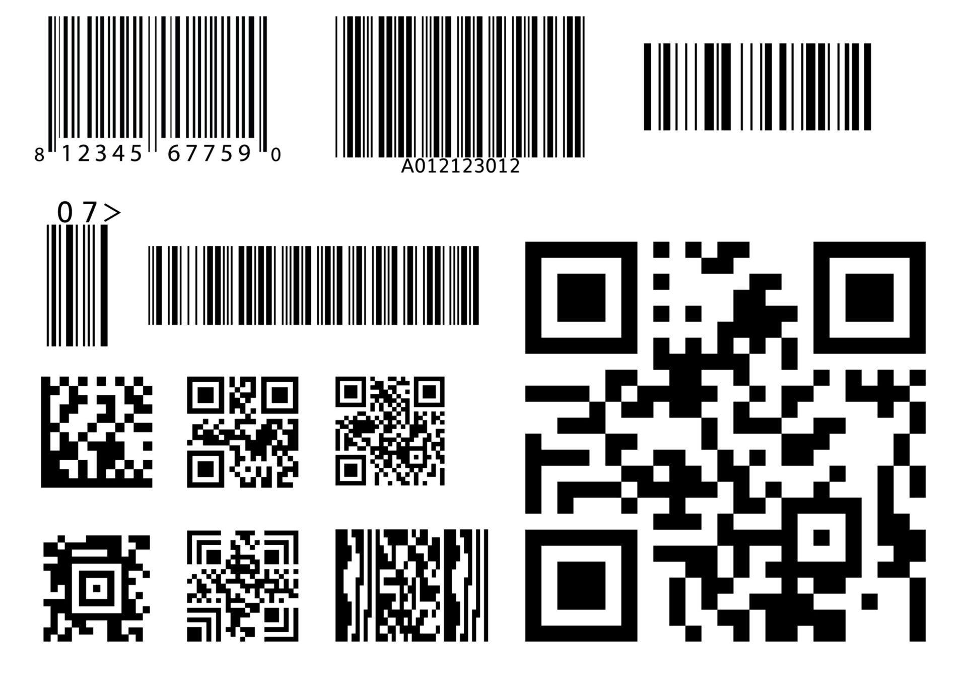 Barcodes QR Codes